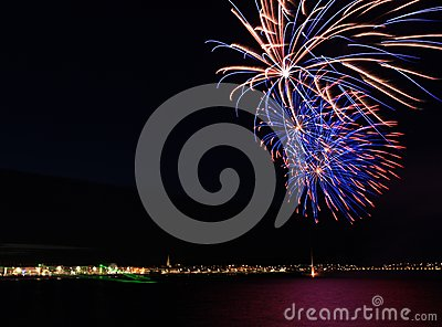 Weymouth seafront celebrations