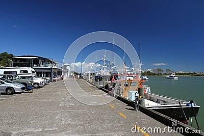 Whakatane Wharf, New Zealand