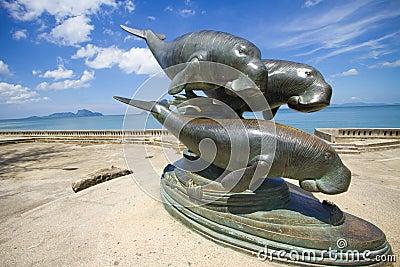 Whale monument