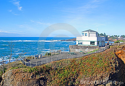 Whale Observation Center Editorial Stock Image