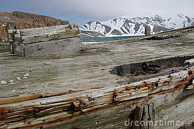 Whaling Boat, Deception Island, Antarctica