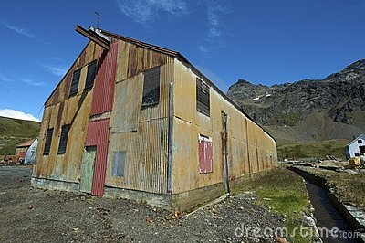 Whaling station at Grytviken