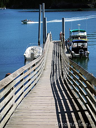 Wharf and Fishing Boat