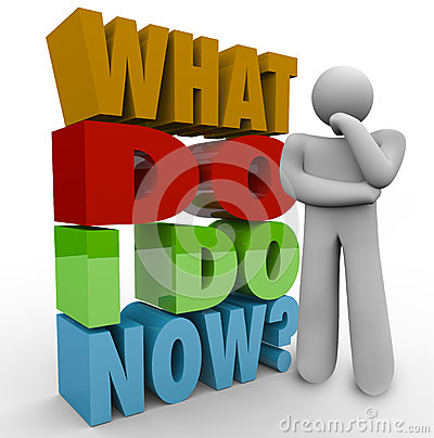 Free What Do I Do Now Thinking Person Thinker Question Royalty Free Stock Images - 31479459