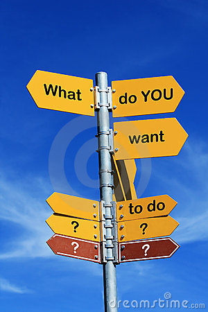 Free What Do You Want To Do Royalty Free Stock Images - 16429039
