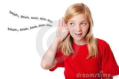 What kids hear
