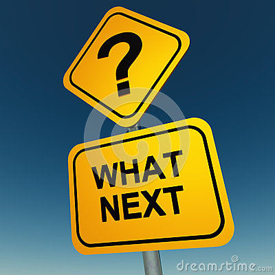 Free What Next Question Stock Photo - 26555610