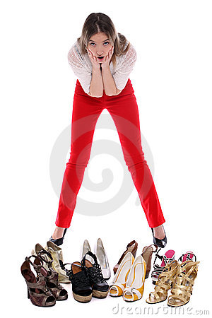 Free What Shoes To Wear Royalty Free Stock Images - 23123299
