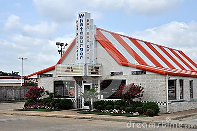 Whataburger Restaurant in Tyler Texas 2012 Editorial Image