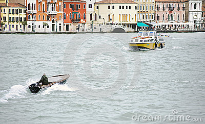 Whater transport in Venice, Italy Editorial Photography
