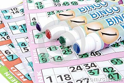 Whats your lucky colour bingo