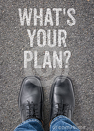 Free Whats Your Plan Royalty Free Stock Images - 49618519