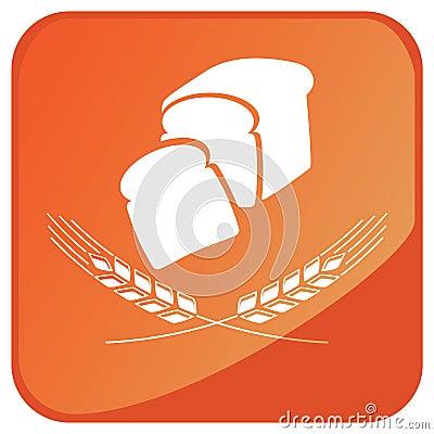 Wheat bread sign