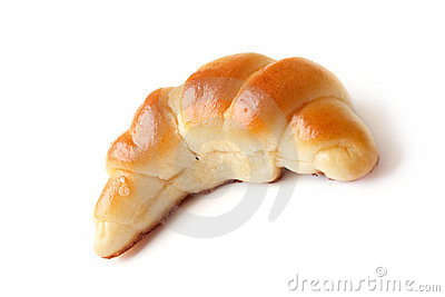 Wheat Croissant Royalty Free Stock Photos - Image: 12373278