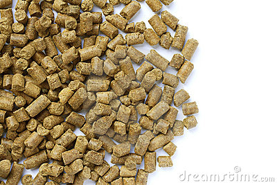 Wheat distiller pellets