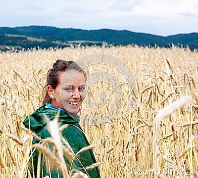 Free Wheat Field Royalty Free Stock Image - 18362726