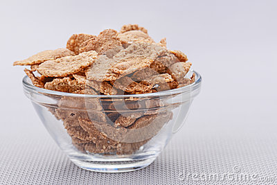 Wheat flakes for breakfast