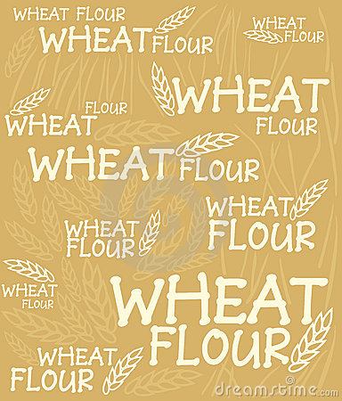 Wheat flour background
