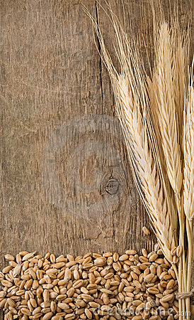 Free Wheat Grain And Spike Ear Royalty Free Stock Image - 20775856