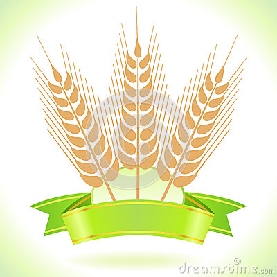 Wheat Grain  Label