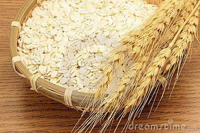 Wheat and wheat ear