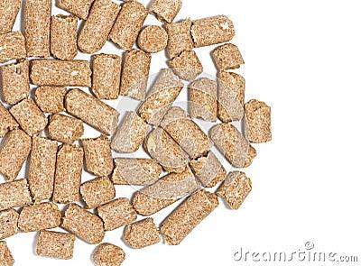 Wheatfeed pellets
