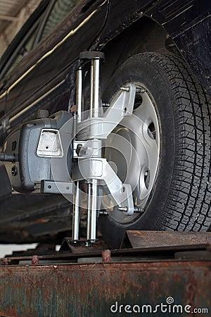 Free Wheel Alignment Stock Photography - 806502