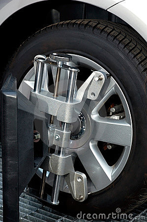 Wheel Alignment Machine Clamp