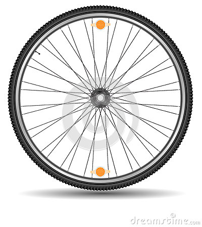 Wheel of bicycle