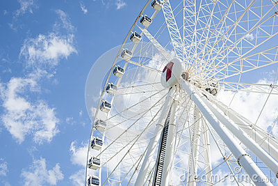 Wheel of Brisbane. Editorial Photo