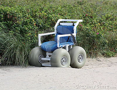 Wheel Chair for Beach