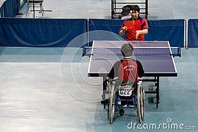 Wheel Chair Men s Table Tennis