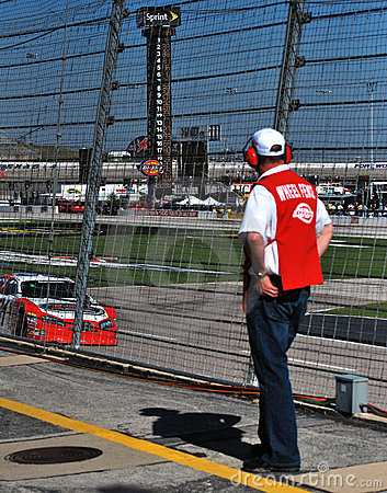 Wheel Fence observer Editorial Photography