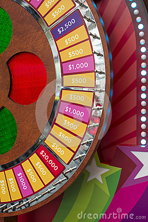 Wheel Of Fortune Royalty Free Stock Photography - Image: 28758477