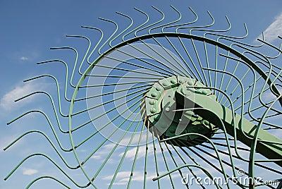Wheel of Hay Rake