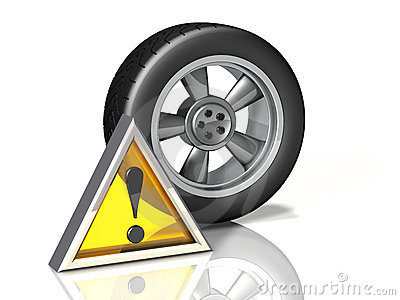 Wheel Icon: Attention