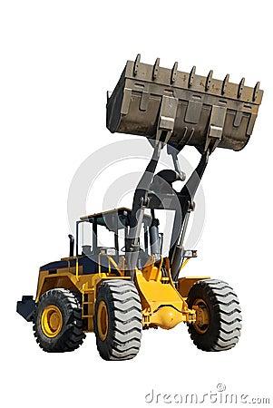 Wheel loader (focus on Bucket)