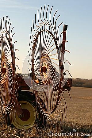 Free Wheel Rakes - Close-up Stock Photo - 600710