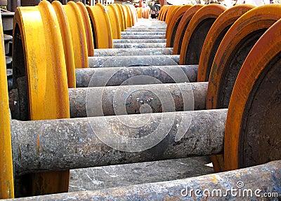 Wheel of rolling stock