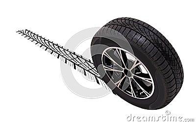 Wheel sliding
