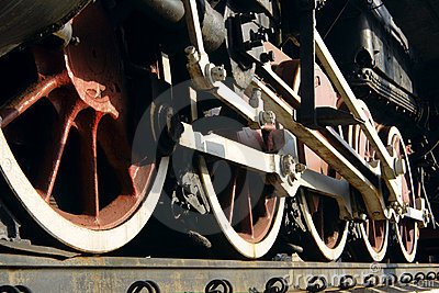 Wheel steam train