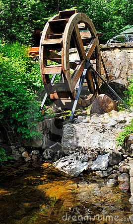 Wheel of a watermill