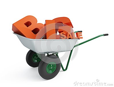 Wheelbarrow big sale