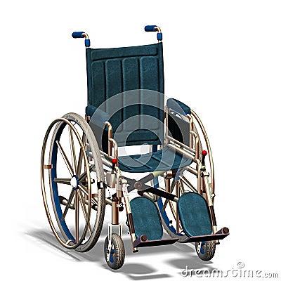Free Wheelchair 1 Royalty Free Stock Photos - 2218808