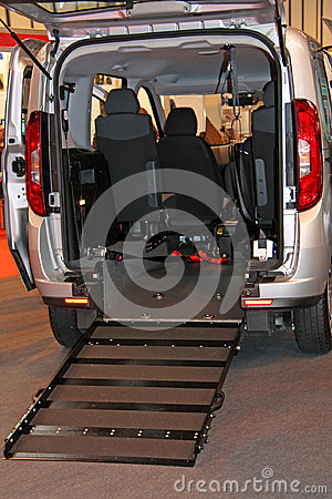 Free Wheelchair Access Ramp. Stock Images - 94764764