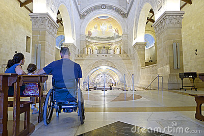 Wheelchair Church Interior