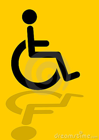 Wheelchair disabled icon