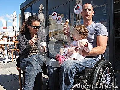 Wheelchair Ice Cream