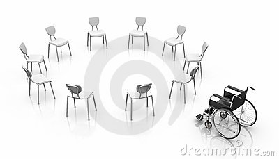 Wheelchair -  Individuality Concept
