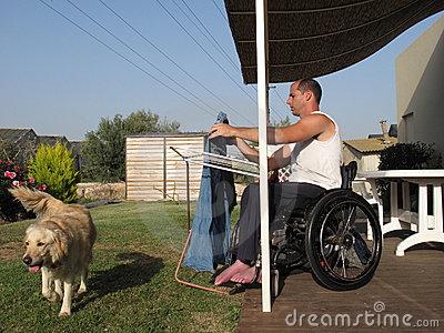 Wheelchair Laundry 2